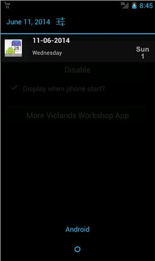 【免費工具App】通知欄日曆-APP點子