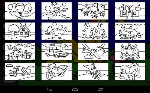 Zebra Paint Coloring App Screenshot Thumbnail