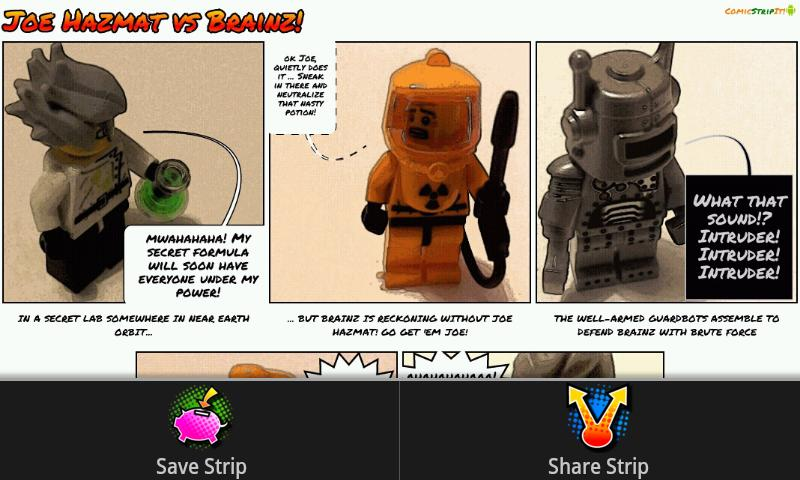 Comic Strip It! pro - screenshot