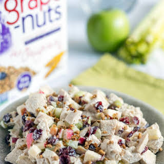 Chicken Salad with Grape-Nuts and Cranberries.