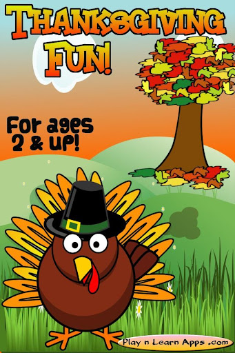 玩免費教育APP|下載Thanksgiving Games Free Kids app不用錢|硬是要APP