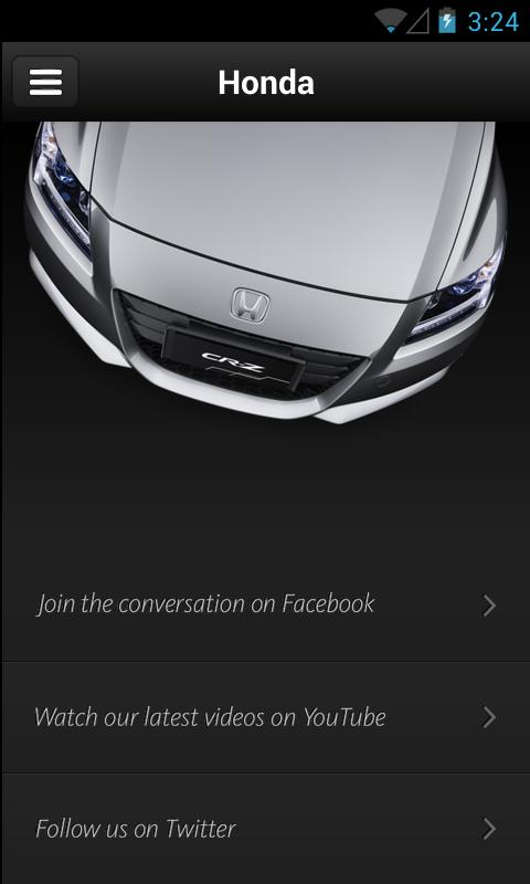 Honda Australia iShowroom - screenshot