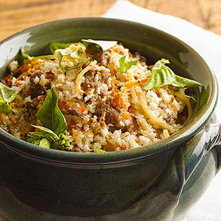 Beef and Noodle Casserole.