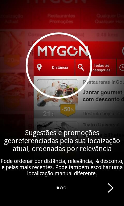 MYGON – Real Last Minute Deals - screenshot