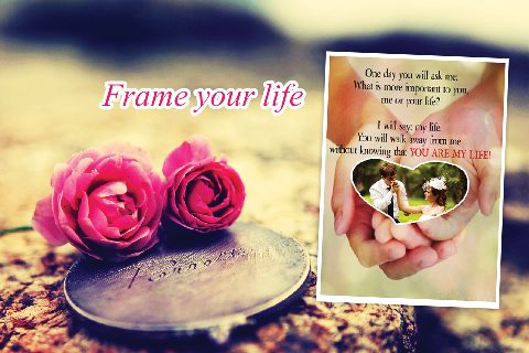 Love Photo Frames + Collage