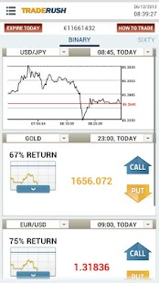 TRADERUSH Binary Options- screenshot thumbnail