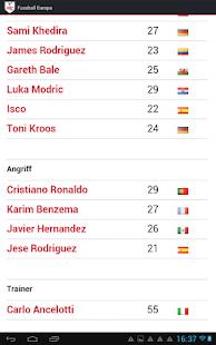 Fussball Europa - screenshot thumbnail