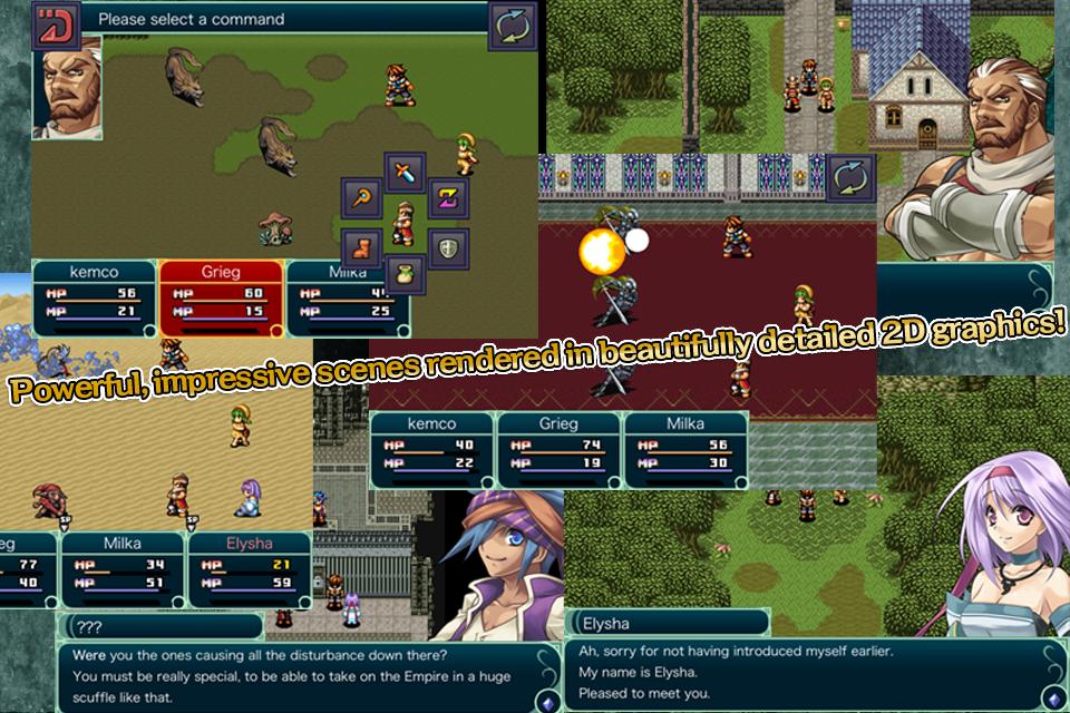 RPG Grinsia screenshot #2