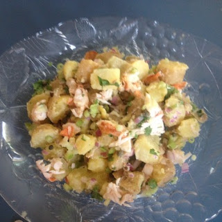 Potato and Lobster Salad