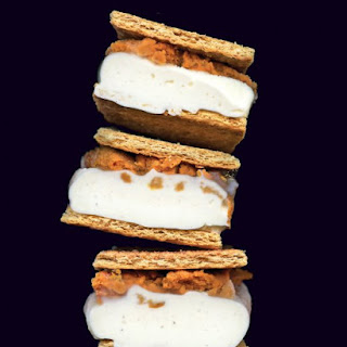 Pumpkin and Ice Cream Sandwich