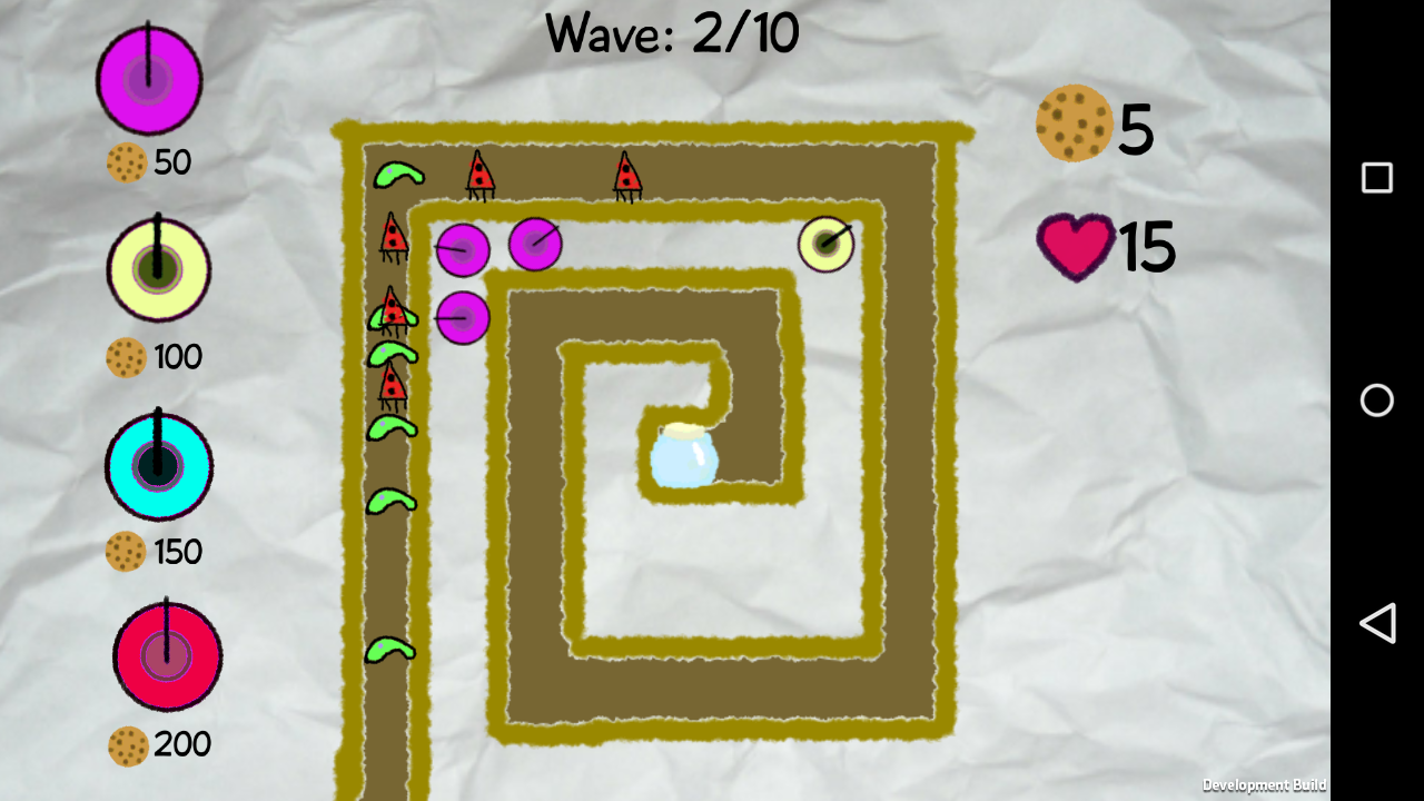 Scribble Defence- screenshot