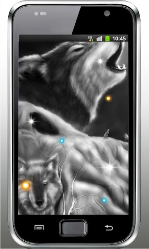 Wolf Voice HD live wallpaper