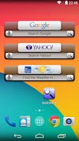 Screenshot of Quick Search Widget (free)