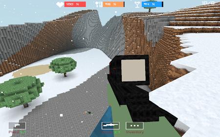 Cube Gun 3D : Winter Craft 1.0 screenshot 44144