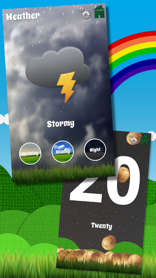Woodland Learn ABCs & 123 FREE- screenshot