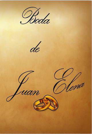 Boda Juan y Elena 2015