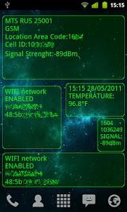 System Info widget- screenshot thumbnail