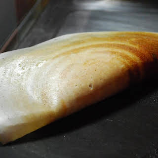 Masala Dosa ( Sourdough Crepes).