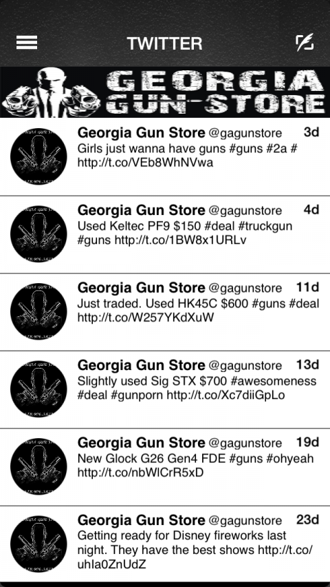Georgia Gun Store- screenshot