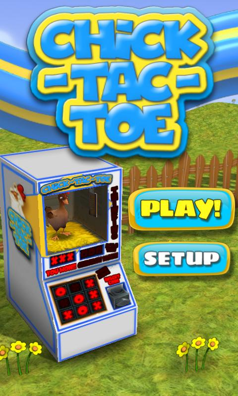 Chick-Tac-Toe - screenshot