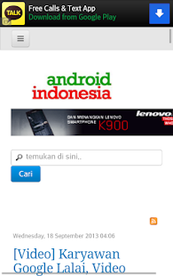 Forum for Android Indonesia - screenshot thumbnail