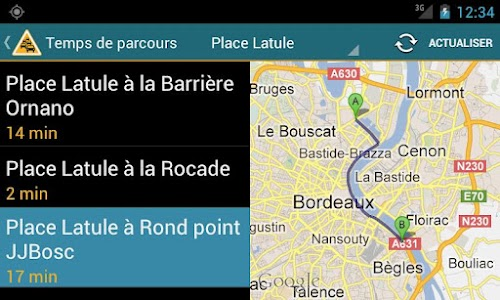 Info Trafic Bordeaux screenshot 3