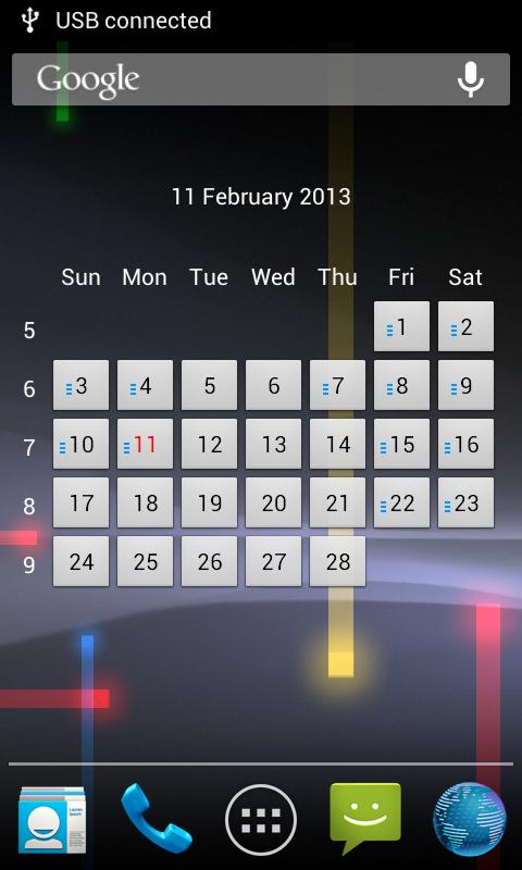 InPortal - Business Calendar - screenshot