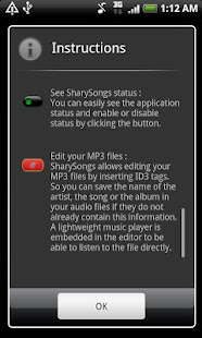 SharySongs screenshot