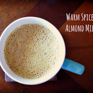 Warm Spiced Almond Milk
