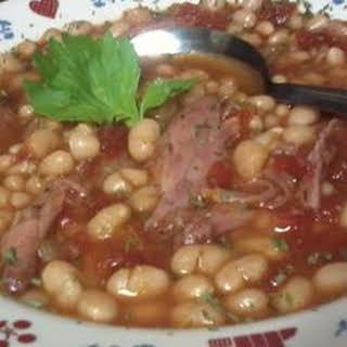 Slow Cooker Calico Bean Soup.