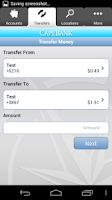 Screenshot of Cape Bank