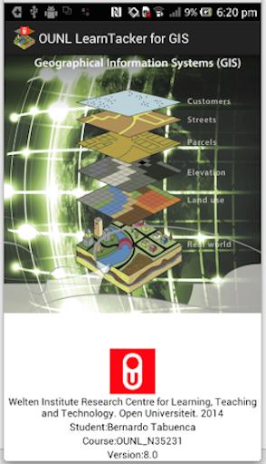 OUNL LearnTracker for GIS