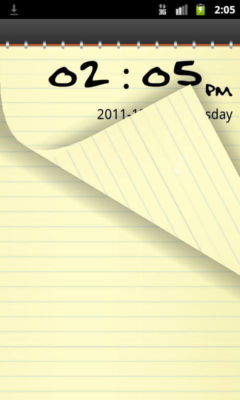 Go Locker Notepad- screenshot