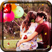 Balloons Romantic HD LWP