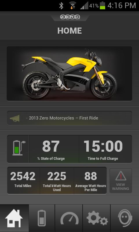 Zero Motorcycles - screenshot