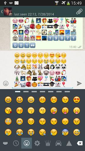 Emoji字體 三星智慧手機 Galaxy