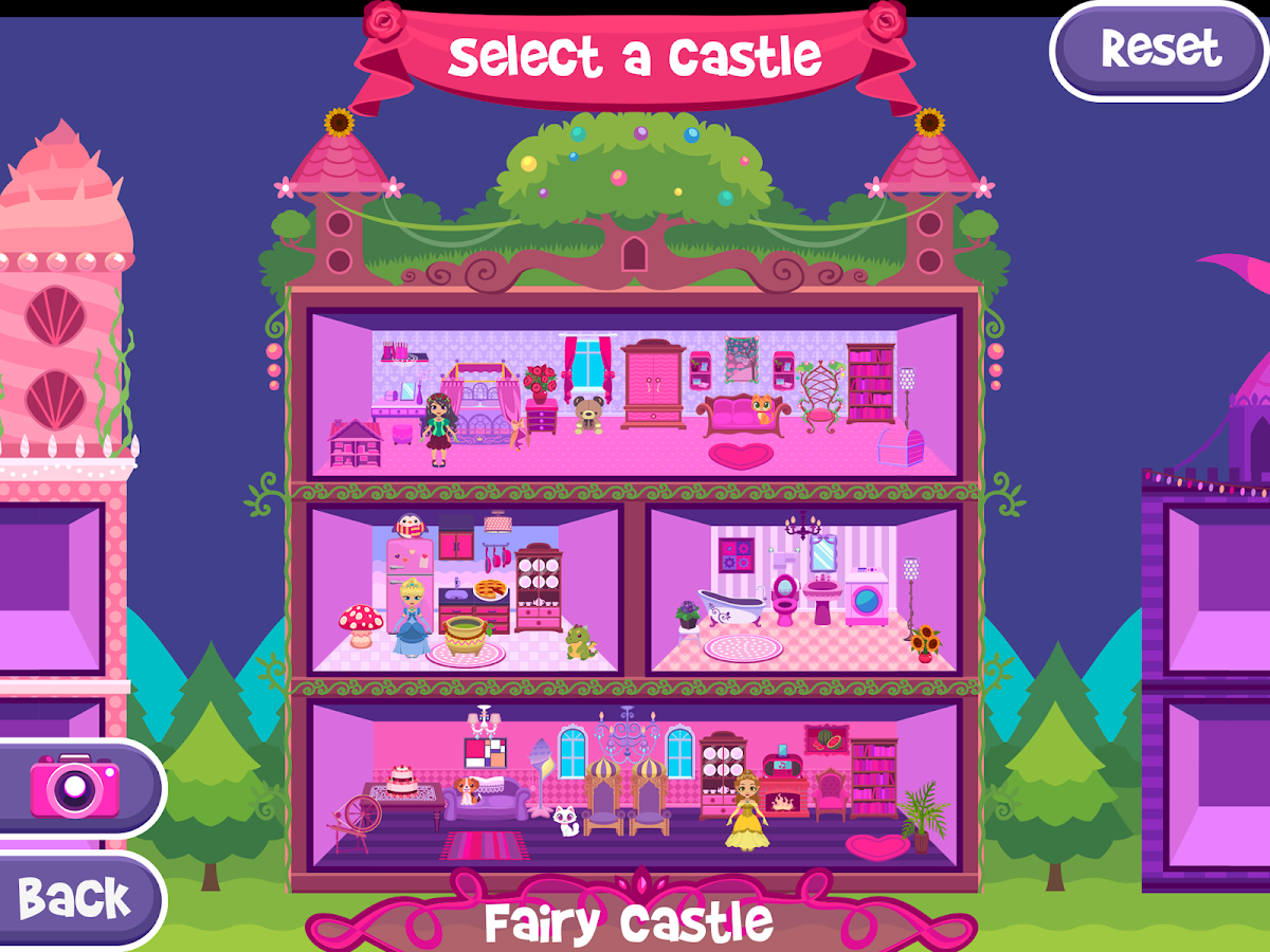 My princess castle doll and home decoration game for All decoration games