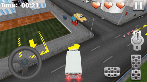 停車場3D救護車