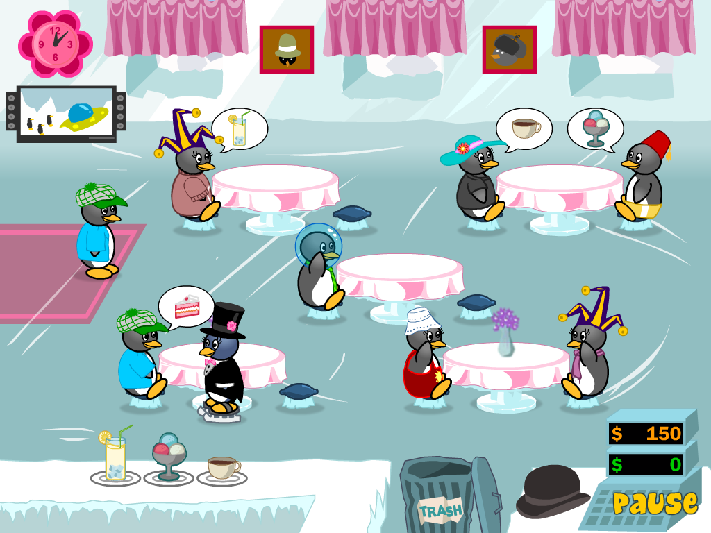 penguin diner game 2