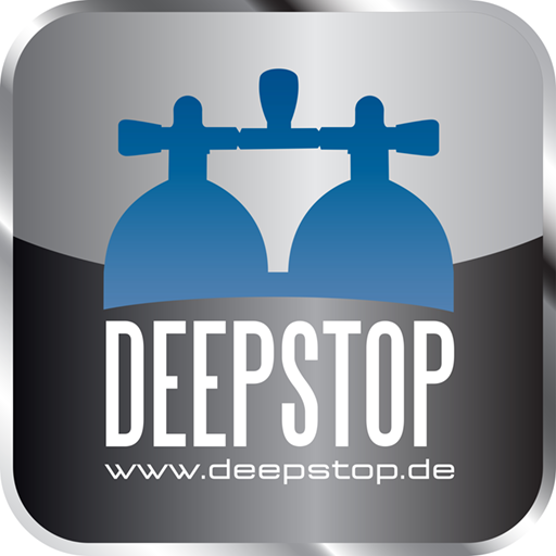DEEPSTOP- Tauchausrüstungen LOGO-APP點子