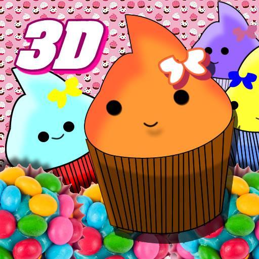 杯形蛋糕遊戲動態壁紙 LOGO-APP點子