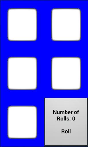 five dice simulator