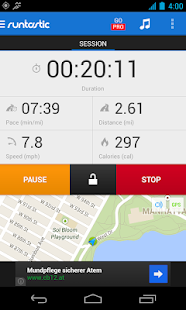 Runtastic Running & Fitness - screenshot thumbnail