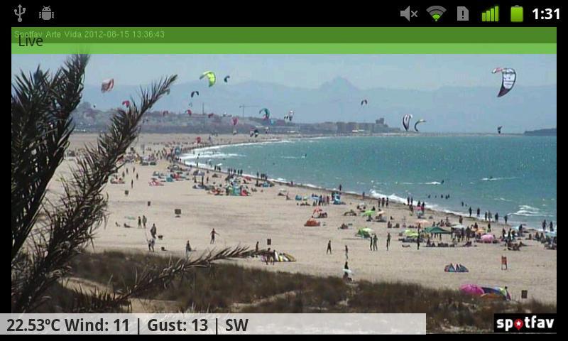 Spotfav- screenshot