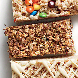S'Mores Chewy Crispy Bars Recipe