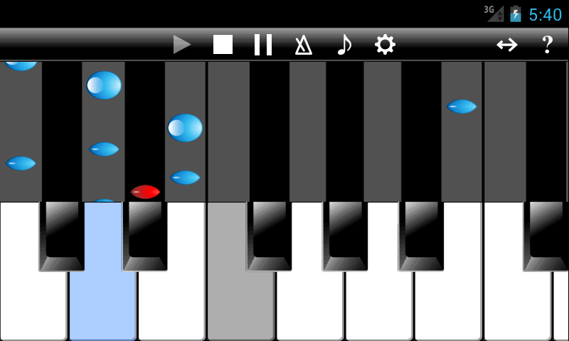 PianoStar- screenshot