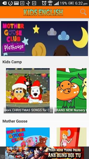 【免費媒體與影片App】Kid English & Nursery Rhymes-APP點子
