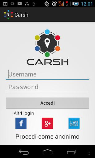 CARSH - Aggrega i carsharing