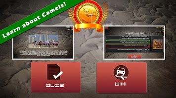 Screenshot of UAE Camel Racing...
