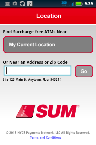 SUM ATM Locator